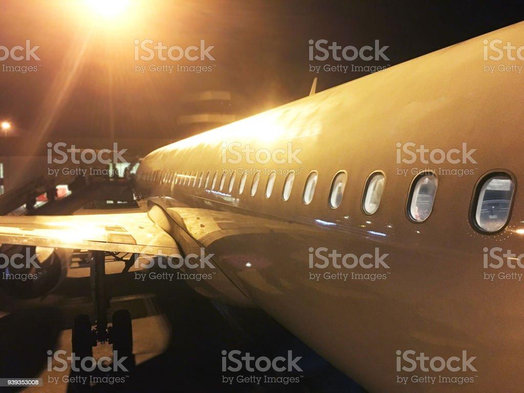 The flight stock photo