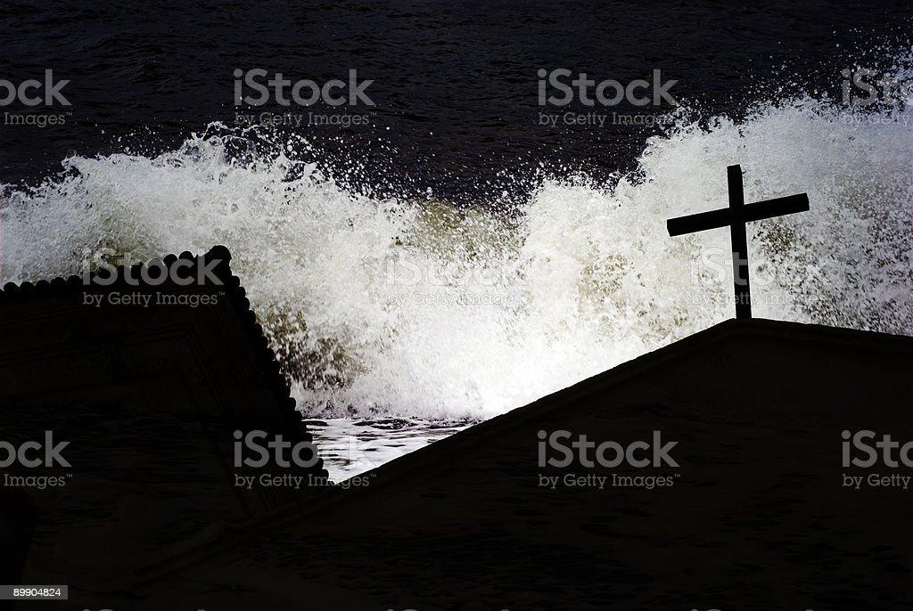 Die Überschwemmung Lizenzfreies stock-foto