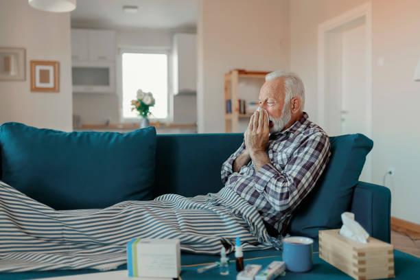 die grippe - erkältung und grippe stock-fotos und bilder