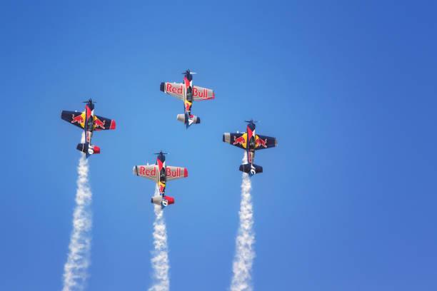 Red Bull stock photo. The Flying Bulls Aerobatic Team 8f60789e441
