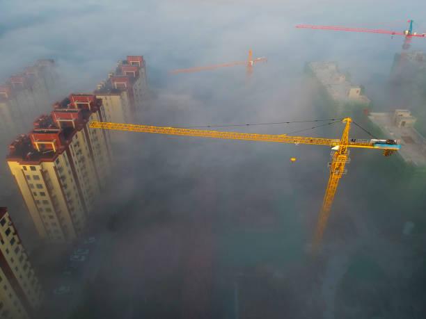 The fog in the city – zdjęcie