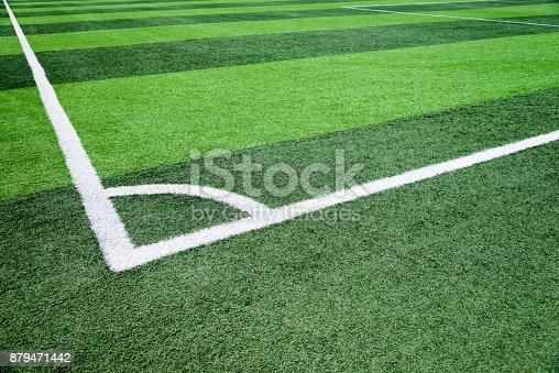 istock The football field corner 879471442