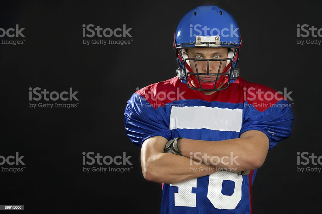 The Football Player royalty-free stock photo