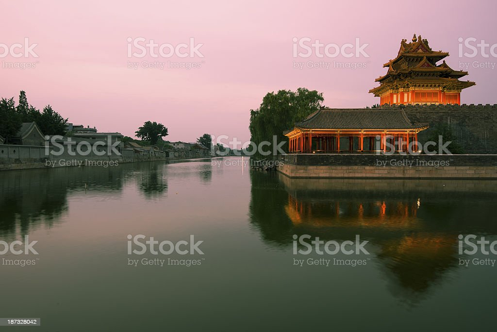 The Forbidden City - Beijing, China royalty-free stock photo