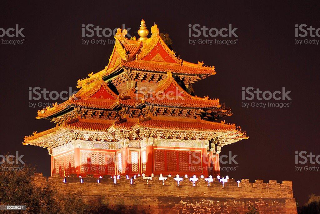 The Forbidden City ,  Beijing China royalty-free stock photo