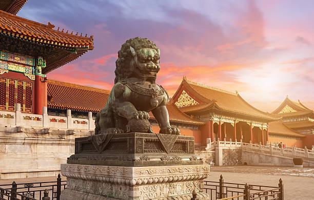 The Forbidden City  Beijing, China – Foto