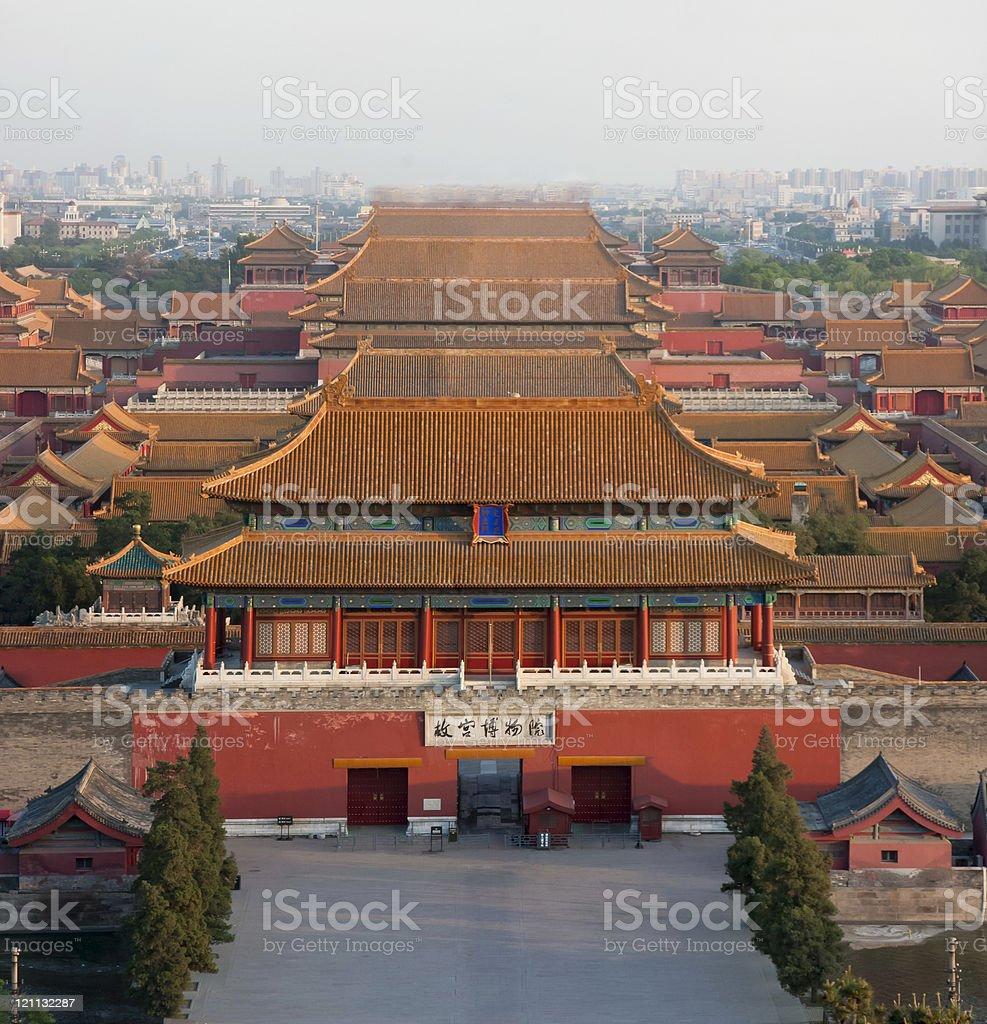 La Città Proibita Di Pechino Cina - Fotografie stock e altre immagini di  Albero - iStock