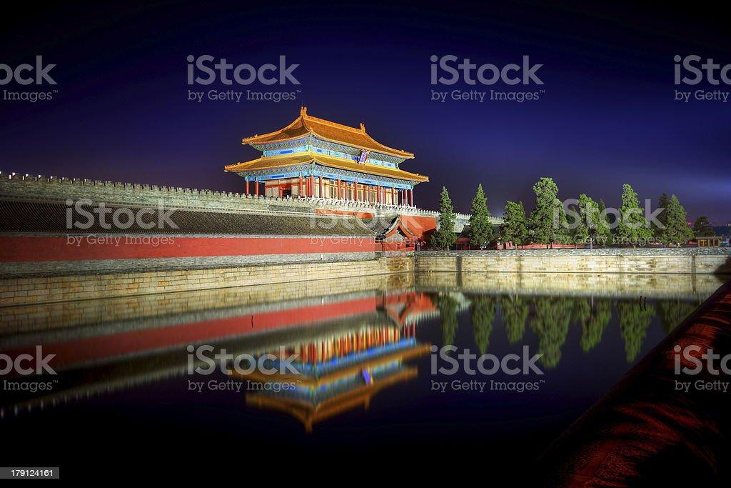 The Forbidden City royalty-free stock photo