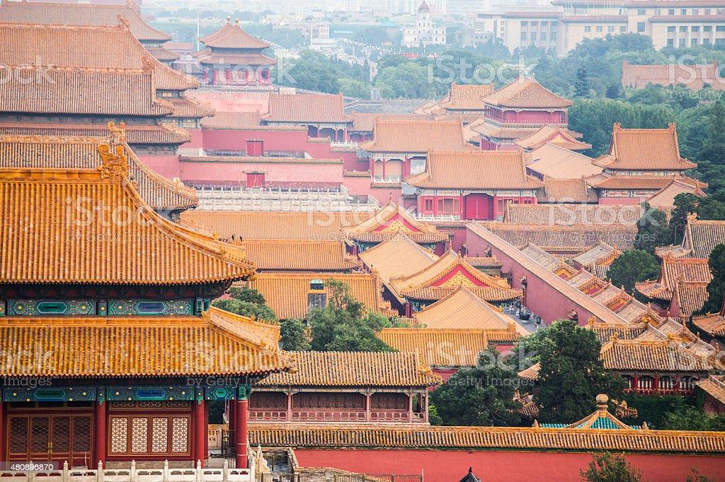 The Forbidden City stock photo