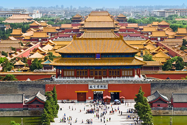 The Forbidden City,Beijing,China The Forbidden City,Beijing,China forbidden city stock pictures, royalty-free photos & images