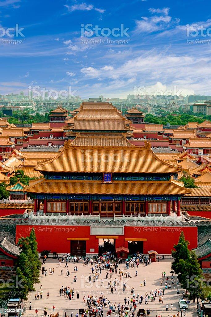The Forbidden City,Beijing,China stock photo