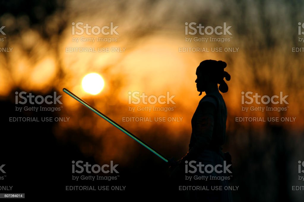 The Force Awakens stock photo