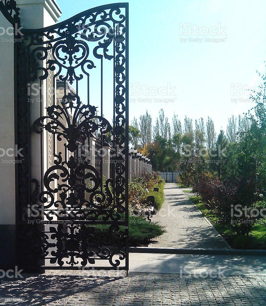 Le faux porte. - Photo