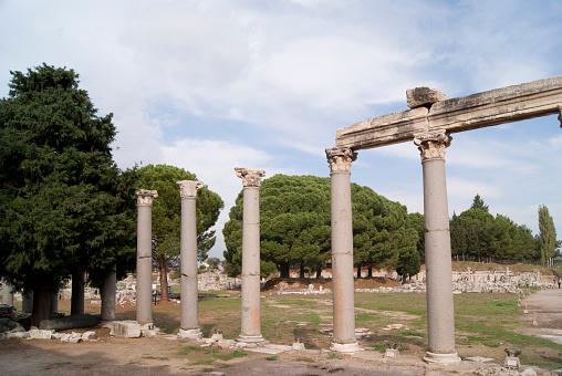 istock The former house in Ephesus 474947976