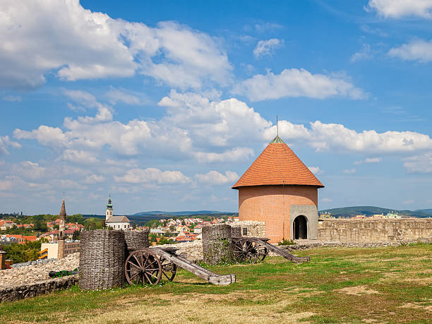 The fort of Eger stock photo