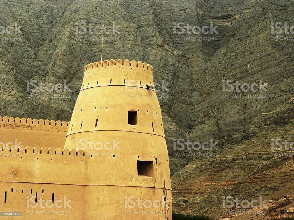 The Fort royalty-free stock photo