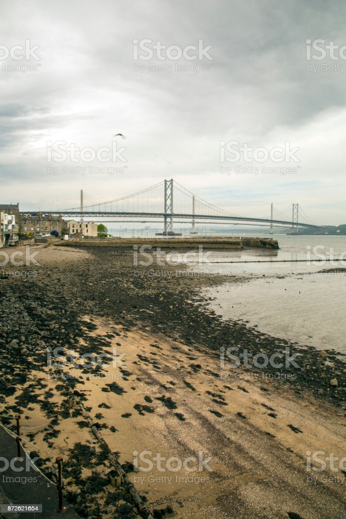 The forth of firth stock photo