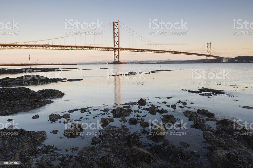 The Forth Road Bridge stock photo