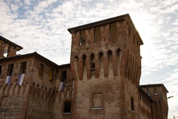 The fortress of Cento, Ferrara, Italy, stock photo