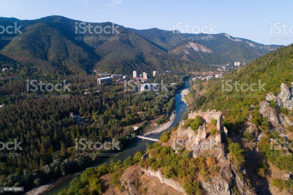 The fortress of Petre in Georgia near Borjomi. stock photo