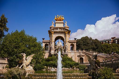 The Fountain of Parc de la Ciutadella