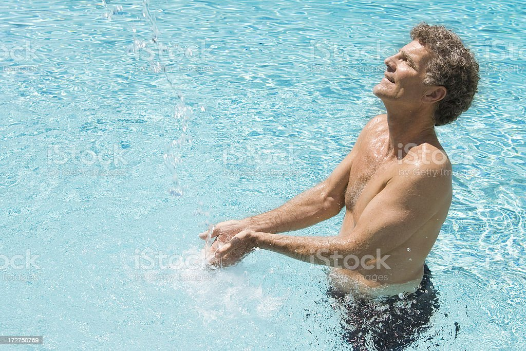 the Fountain of Youth royalty-free stock photo