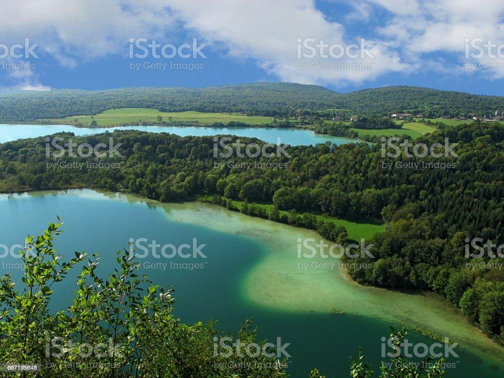 The Four Lakes Region stock photo