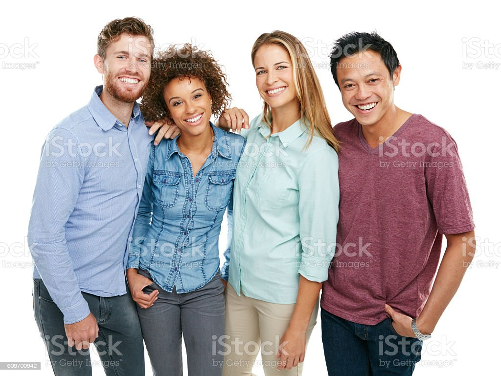 The four of us is plenty stock photo