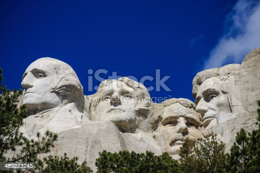 1195382882istockphoto The four presidents at Mount Rushmore in South Dakota 489223245