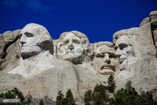 1195382882istockphoto The four presidents at Mount Rushmore in South Dakota 489223247