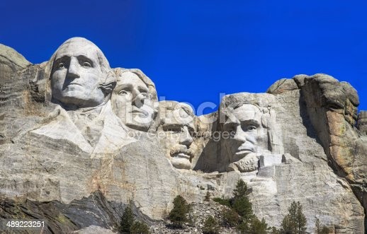1195382882istockphoto The four presidents at Mount Rushmore in South Dakota 489223251