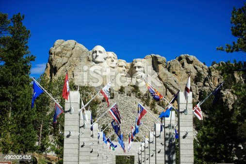 1195382882istockphoto The four presidents at Mount Rushmore in South Dakota 490205435