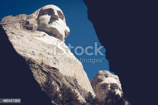 1195382882istockphoto The four presidents at Mount Rushmore in South Dakota 490451355