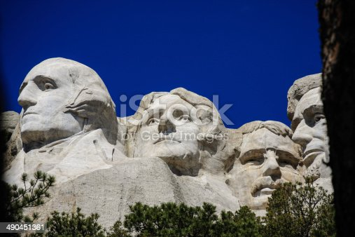 1195382882istockphoto The four presidents at Mount Rushmore in South Dakota 490451361