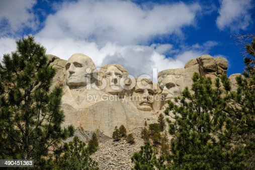 1195382882istockphoto The four presidents at Mount Rushmore in South Dakota 490451363