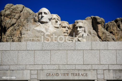 1195382882istockphoto The four presidents at Mount Rushmore in South Dakota 490451469