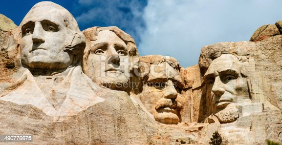 1195382882istockphoto The four presidents at Mount Rushmore in South Dakota 490776675