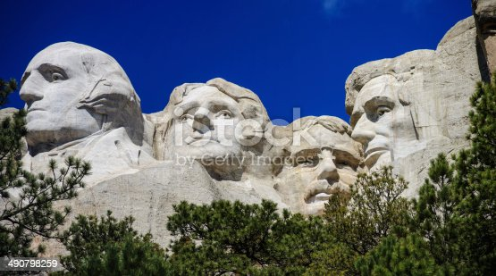 1195382882istockphoto The four presidents at Mount Rushmore in South Dakota 490798259