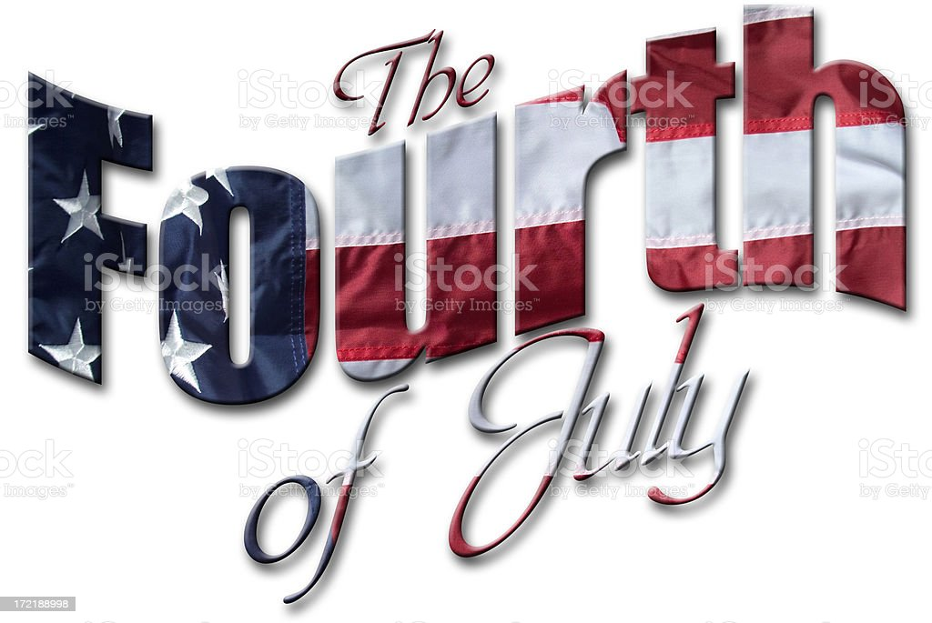The Fourth of July royalty-free stock photo