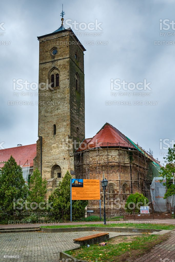 The Franciscan monastery stock photo