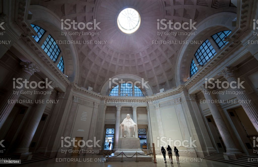 The Franklin Institute royalty-free stock photo