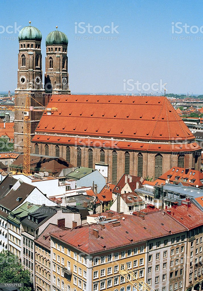 The Frauenkirche, Munich stock photo