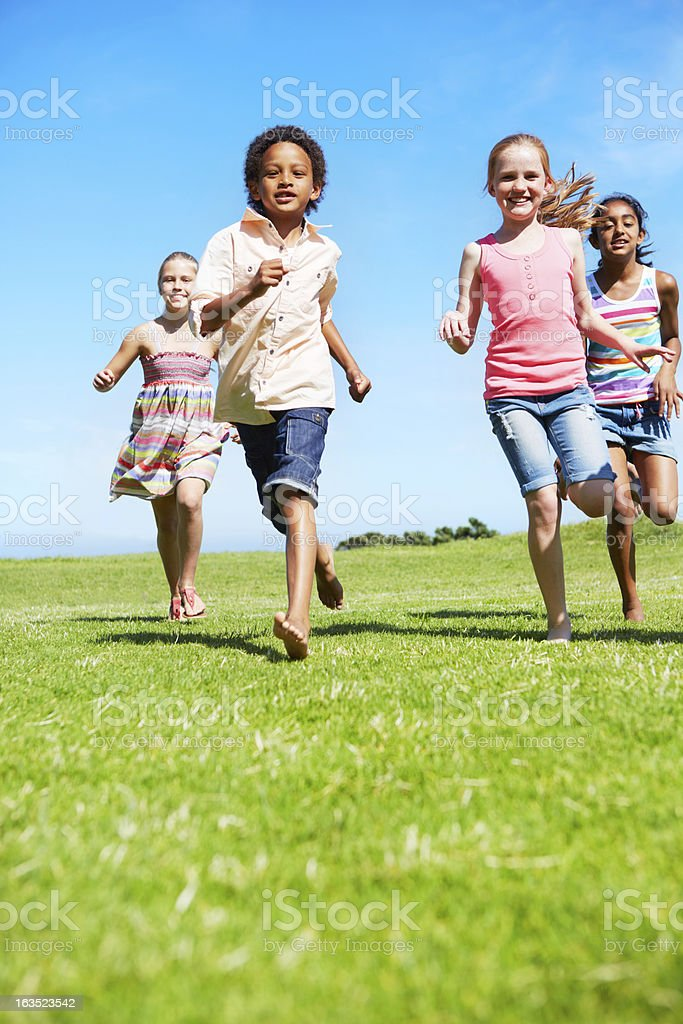 The freedom of youth stock photo