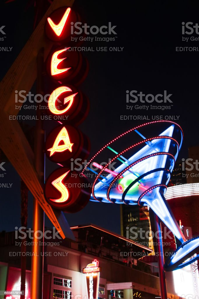 The Fremont Street Experience stock photo