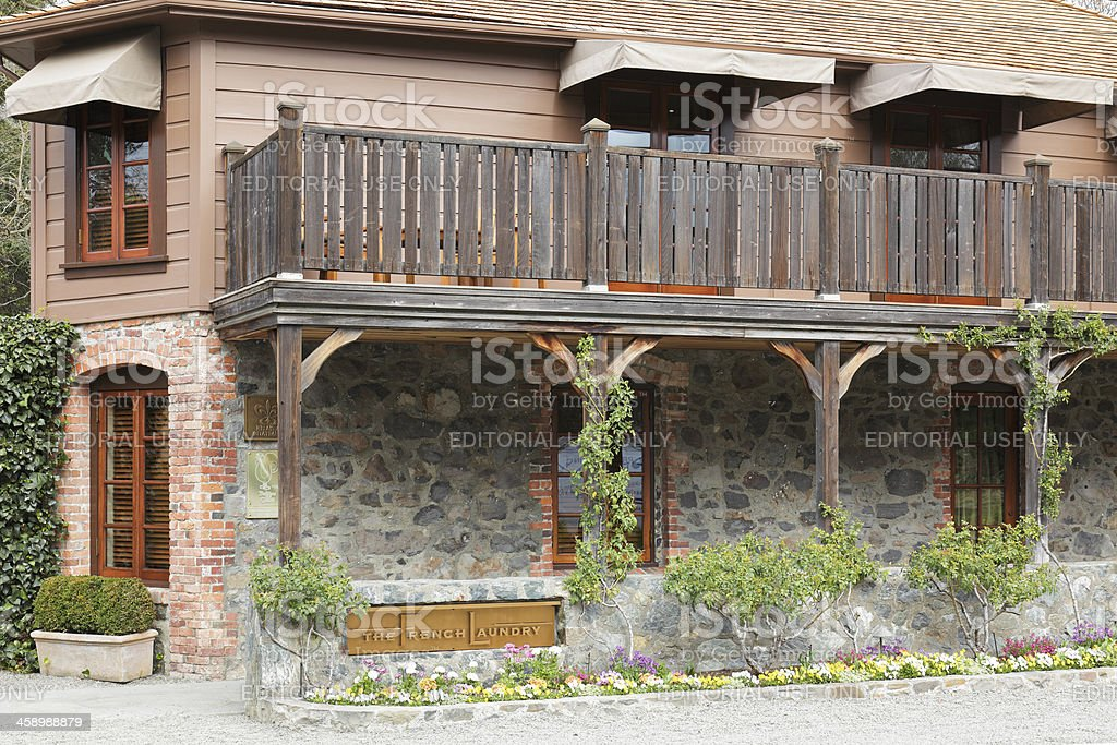 The French Laundry royalty-free stock photo