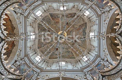 istock The frescod dome of the Church of Saint Nicholas 961238870