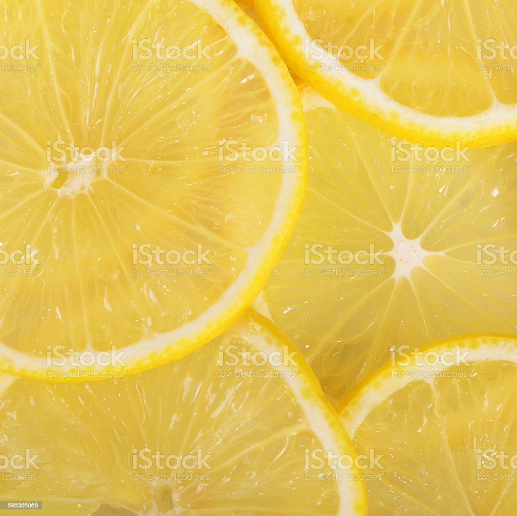 The fresh lemon a background closeup royalty-free stock photo