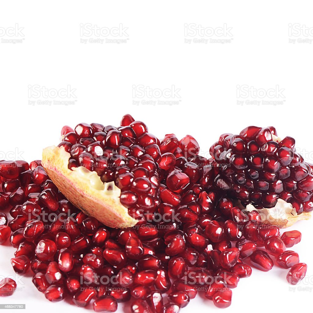 The fresh pomegranate as a background royalty-free stock photo