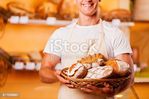 istock The freshest bread for you. 517059931