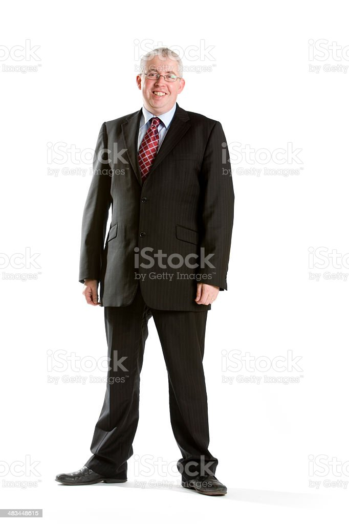 the friendly face of business royalty-free stock photo
